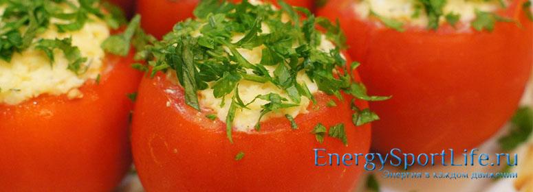 Диетическое блюдо с яйцами