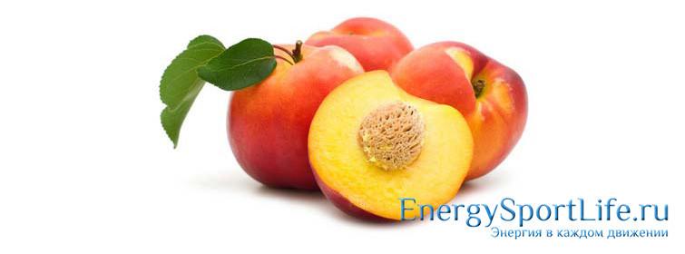 Горячий персиковый десерт