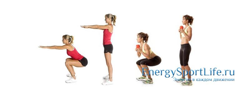 Упражнения для упругости ягодиц
