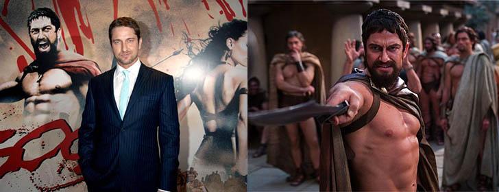 Джерард Батлер: тренировки к фильму 300 спартанцев